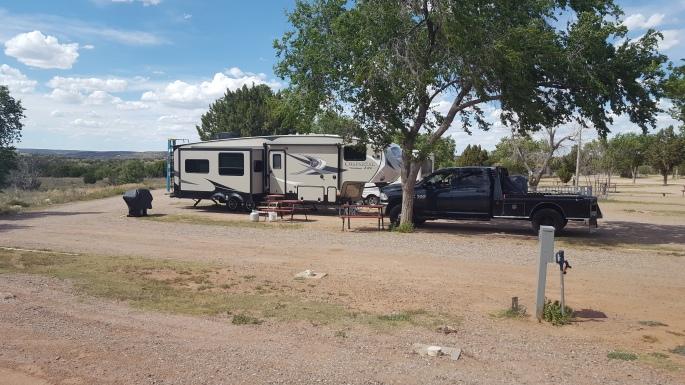 Santa Rosa Campground site 33