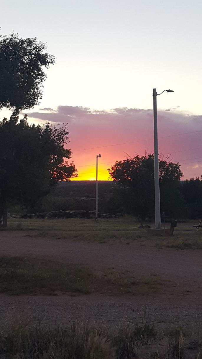 Sunrise In Santa Rosa