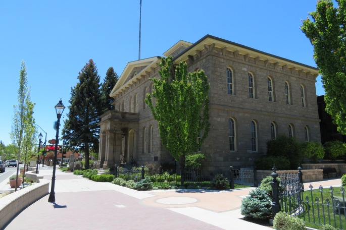 Carson City Mint Historic Entrance