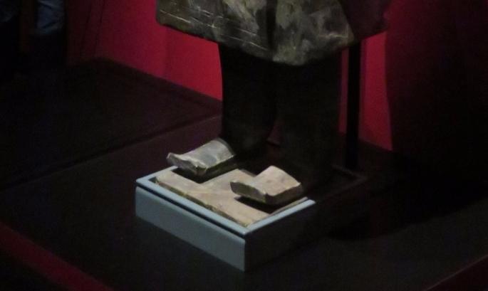 Terracotta Warrior Exhibit Shoe Study