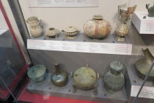 Amazing ceramic pottery made to look like bronze.