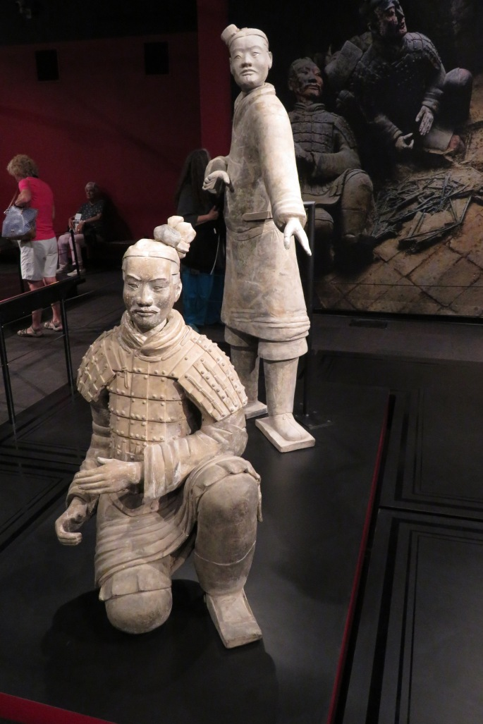 Terracotta Warrior Exhibit