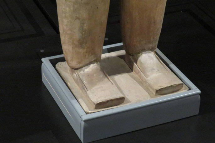 Terracotta Warrior Exhibit Shoe Study