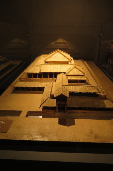 A model of the Emperor's Palace