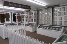 The Masterson Studio exhibit.