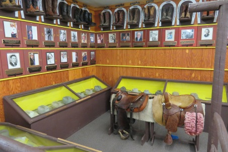The second Pioneer Hall walls under the boot collection.