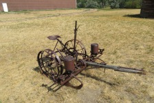 Potato planter in Montana. Well, it's almost Idaho.