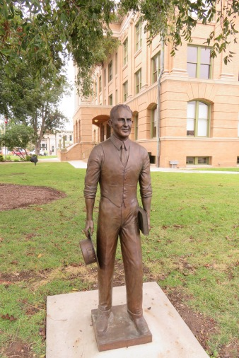 Dan Moody was a lawyer who was successfully able get convictions of Ku Klux Klan members in the 1920s. His story and the courthouse are a legacy for the county and for Texas.